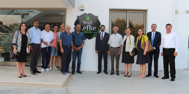 Ekonomi ve Enerji Bakanı Atun'dan ziyaret