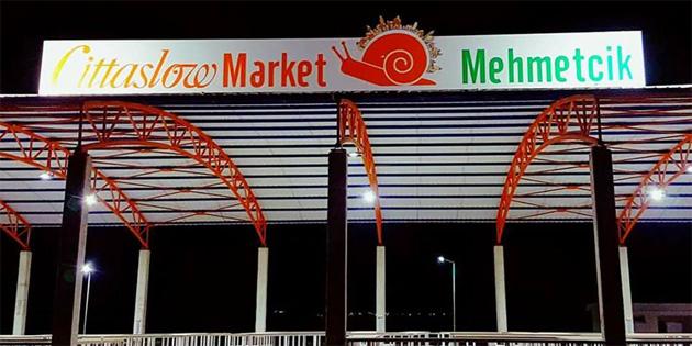 """""""Cittaslow Market"""" 5 Kasım'da hizmete giriyor"""