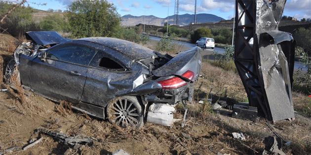 Lefkoşa- Girne anayolunda kaza
