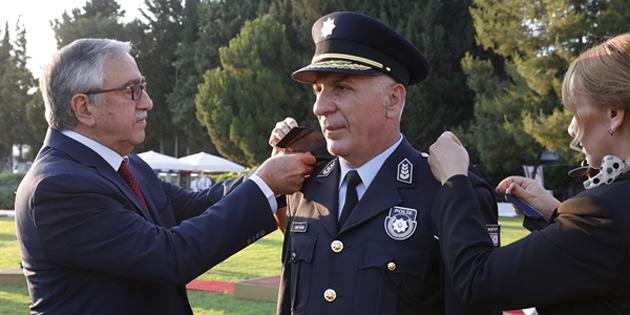 Polis Genel Müdürlüğü rütbe takma ve görev devir teslim töreni yapıldı