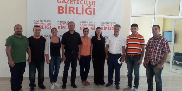 K�br�s T�rk Gazeteciler Birli�i Ba�kan� Sami �zuslu oldu