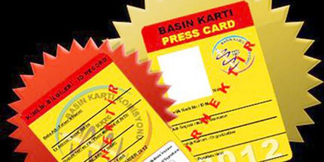 Basın kartı başvuru süresi 12 Ocak'a kadar uzatıldı