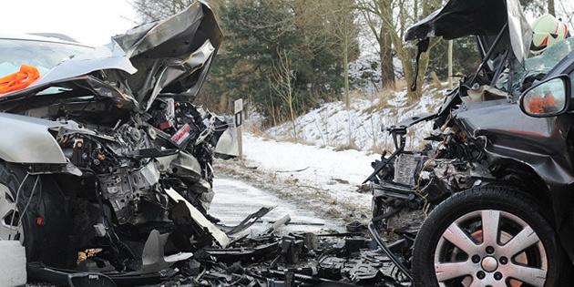 Trafikte bir haftada 2 kişinin hayatını kaybettiği 104 kaza