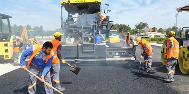 Girne-Alsancak anayolunda yarın yol yapım çalışması yapılacağından sürücülere dikkatli sürüş uyarısı