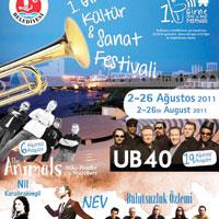 Girne'de festival zamanı