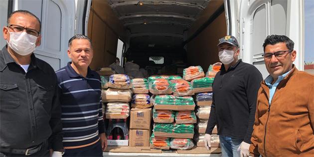 Maraş Avcılık Atıcılık Birliği'nden ihtiyaçlı ailelere yardım paketi