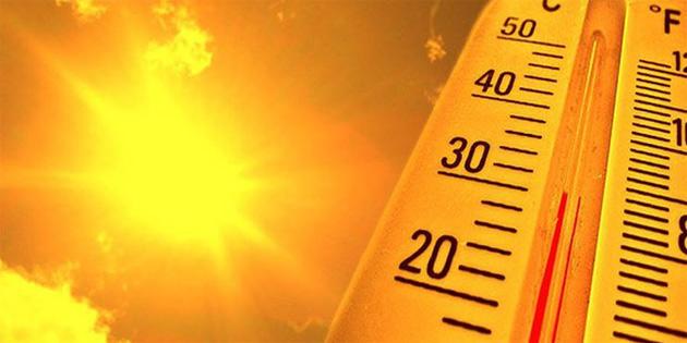 Hava sıcaklığı mevsim normallerinin üzerinde
