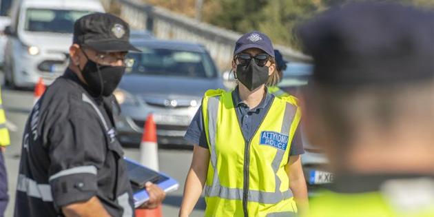 Rum Polisi, COVID-19 tedbirlerine uymayan 1 işyeri ve 79 kişiyi rapor etti