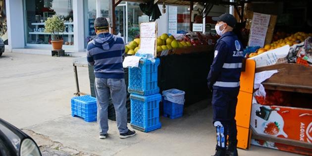 Gazimağusa Belediyesi market ve bankalarda sıkı tedbirler uyguluyor