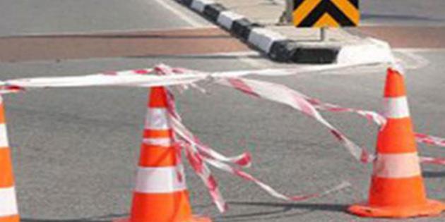Eski Gazimağusa - Lefkoşa anayolu bir süre trafiğe kapalı olacak