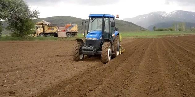 Sonbahar patates ekimi arazileri için son beyan tarihi 9 Ekim