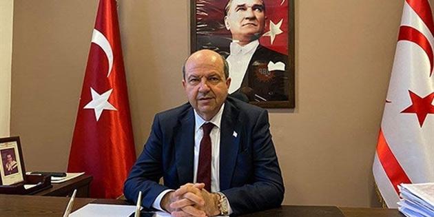 """""""Mehmet Ali Talat'ın ifadeleri eski bir Cumhurbaşkanı'na yakışan bir üslup değil"""""""