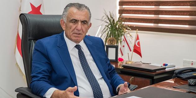Çavuşoğlu rahatsızlanarak Gazimağusa Devlet Hastanesi'ne kaldırıldı
