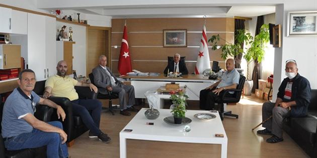Siligu Dayanışma Derneği Özçınar'ı ziyaret etti