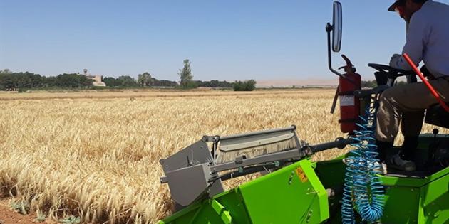 """""""Bu çalışma tahıl üretimi içerisinde en önemli adımdır"""""""