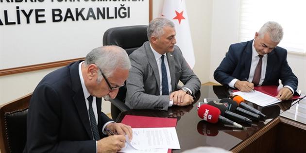 Maliye Bakanlığı ile Girne Belediyesi arasında protokol imzalandı
