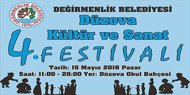 Düzova Kültür Ve Sanat Festivali 15 Mayıs'ta