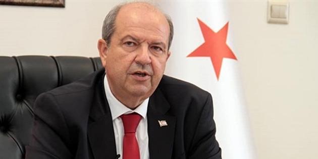 Tatar Derviş Eroğlu'na acil şifalar diledi