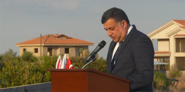 Şehitler anıtı törenle açıldı