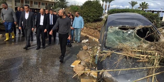Başbakan Erhürman Ciklos'ta incelemelerde bulundu