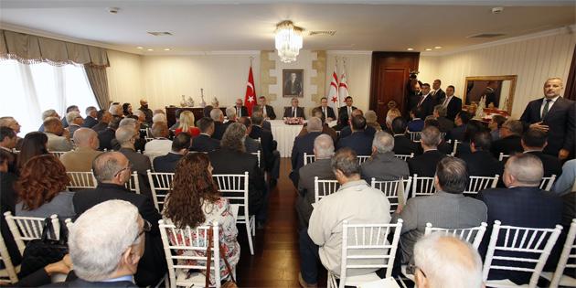 Cumhurbaşkanı Akıncı, Sivil Toplum Örgütlerini Berlin görüşmesi konusunda bilgilendirdi