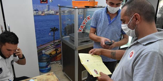 Girne Belediyesi'nde gıda denetimleri ve covid-19 kontrolleri devam ediyor