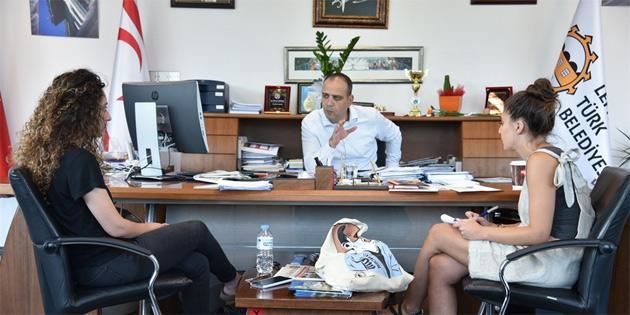 LTB Başkanı Harmancı, Kuir Kıbrıs aktivistleri ile görüştü