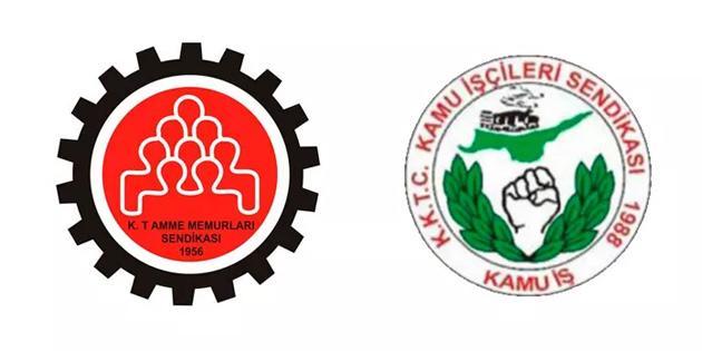 Kamu-İş ve KTAMS Girne Kaza Mahkemesi'nde eylem uyarısında bulundu