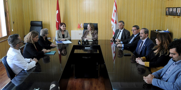 Sağlık Bakanı Besim Tabipler Birliği'ni kabul etti
