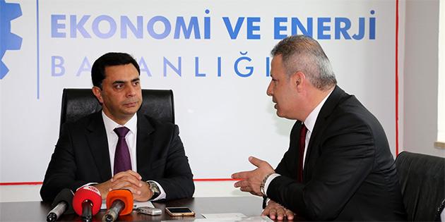 """NAMİ: """"EKONOMİYİ TÜM ÇALIŞMALARIN ODAĞINA KOYDUK"""""""