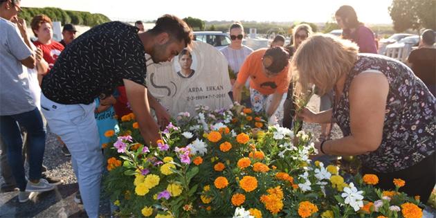 Arda Erkan ölümünün 3'üncü yıldönümünde anıldı