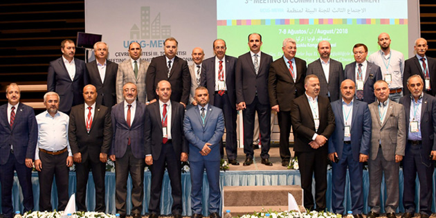 Güzelyurt Belediyesi UCLG-MEWA Çevre Komite toplantısına katıldı