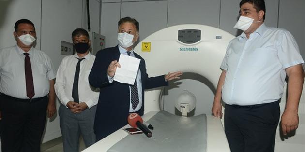 Sağlık Bakanı Pilli: 'Ayaktan tanı merkezi Kovid-19 merkezi olacak'