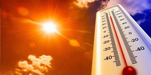 Hava sıcaklığı bir hafta boyunca iç kesimlerde 34-37 derece dolaylarında olacak