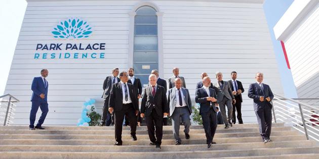 'PARK PALACE RESİDANCE' HİZMETE GİRDİ