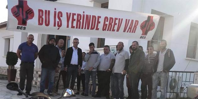 Esentepe Belediyesi'nde grev