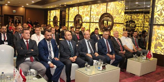 Dünya Türk Sivil Toplum Örgütleri toplantısı Girne'de yapıldı