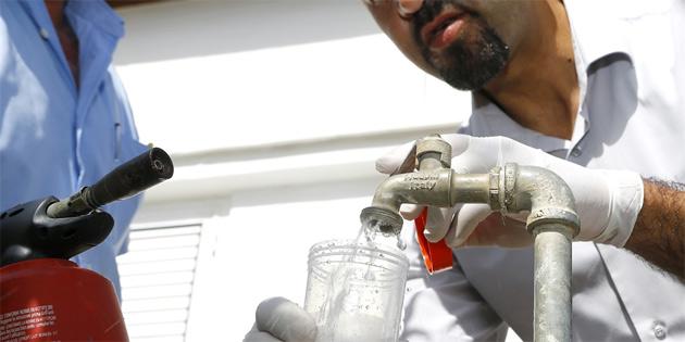 """""""Şebeke suyu mikrobiyolojik olarak tüketime uygun"""""""