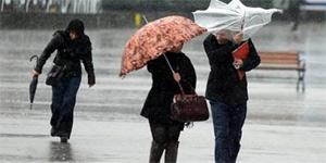 Meteoroloji Dairesi kuvvetli sağanak yağış beklendiği uyarısında bulundu
