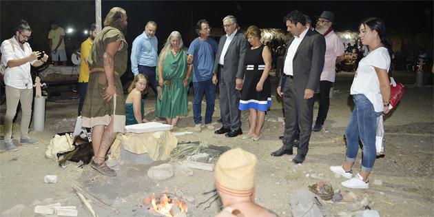 Akıncı Uluslararası Pişmiş Toprak Sempozyumu'nun açılışına katıldı