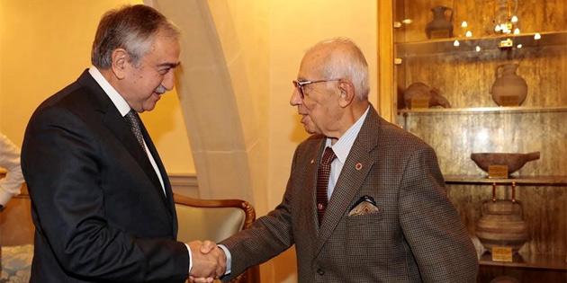 Genelkurmay eski Başkanı İsmail Hakkı Karadayı'yı kabul etti
