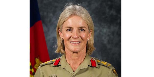Kıbrıs'taki Barış Gücünün yeni komutanı Cheryl Pearce