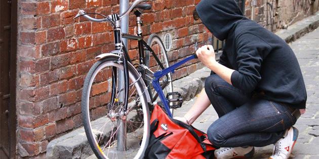 Bisiklet çaldı tutuklandı