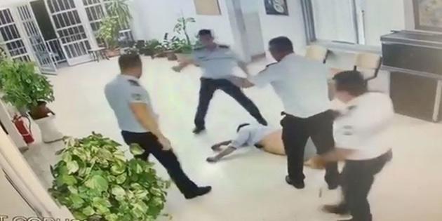 ERCAN'DAKİ DAYAKÇI POLİSE 50 GÜN HAPİS