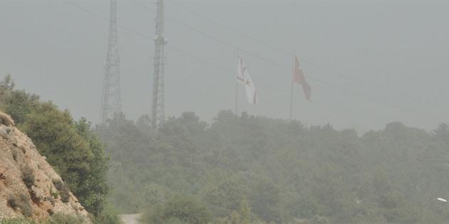 Geçtiğimiz yıl en fazla toz konsantrasyonu Girne'de kaydedildi