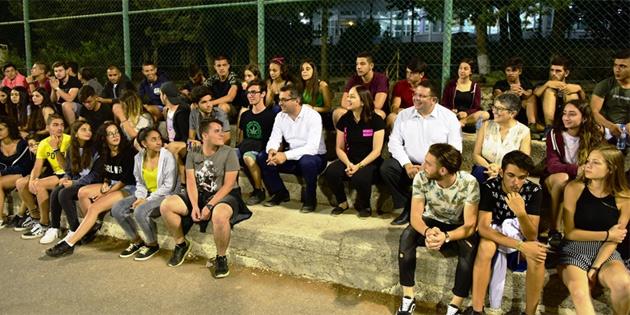 Başbakan Erhürman Kantara Yaz Kampı'nı ziyaret etti