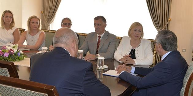 Cumhurbaşkanı Akıncı, BM Kıbrıs Özel Temsilcisi Spehar'ı kabul etti