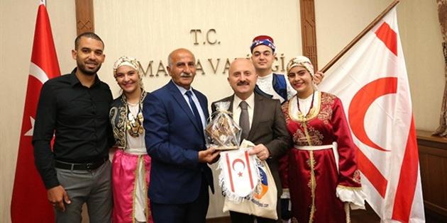 İskele Belediyesi Halk Dansları Topluluğu Amasya'da Festivale katıldı