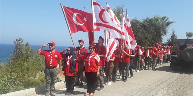 Erenköy Direnişi Milli Bilinç ve Şehitleri Anma İzci Kampı, 4'üncü kez yapıldı