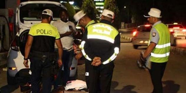 KKTC'de geçtiğimiz hafta 57 trafik kazası meydana geldi 24 kişi yaralandı